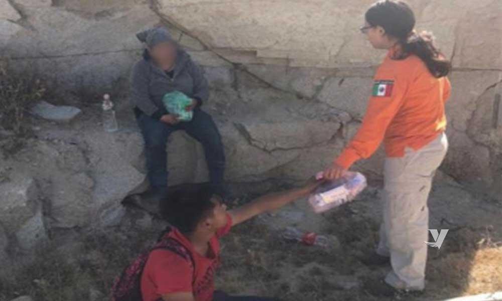 Rescata Grupo BETA a personas migrantes en La Rumorosa