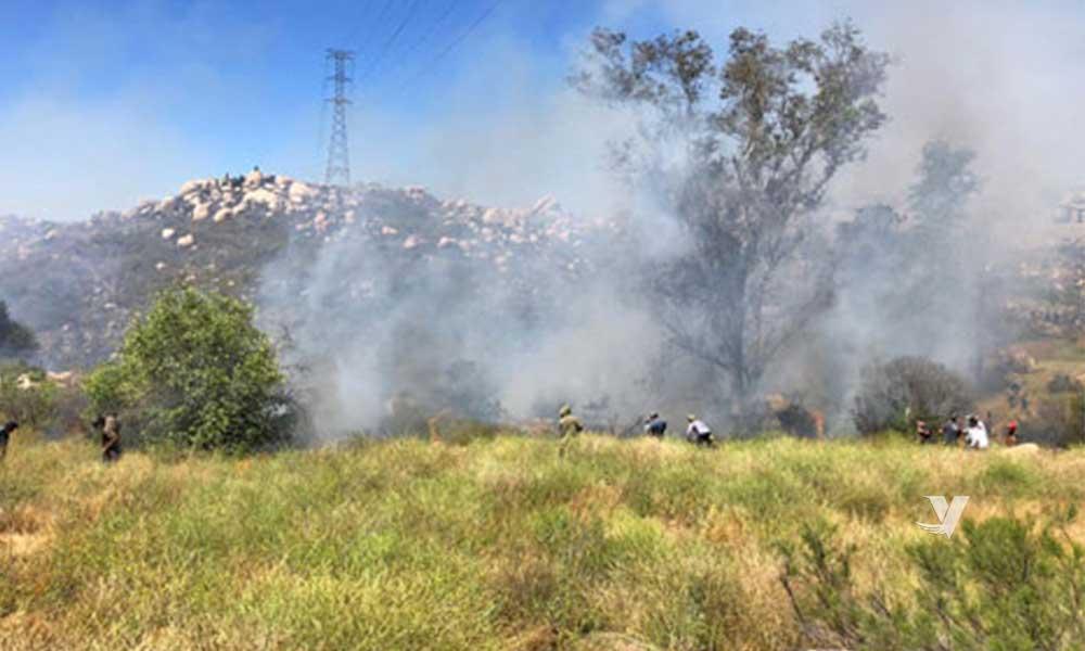 Sofoca Protección Civil y bomberos incendio en Colonia El Mirador