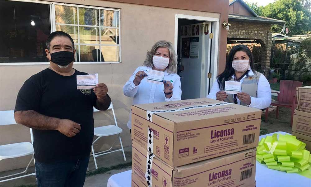 Inauguran nueva lechería Liconsa en Valle de las Palmas