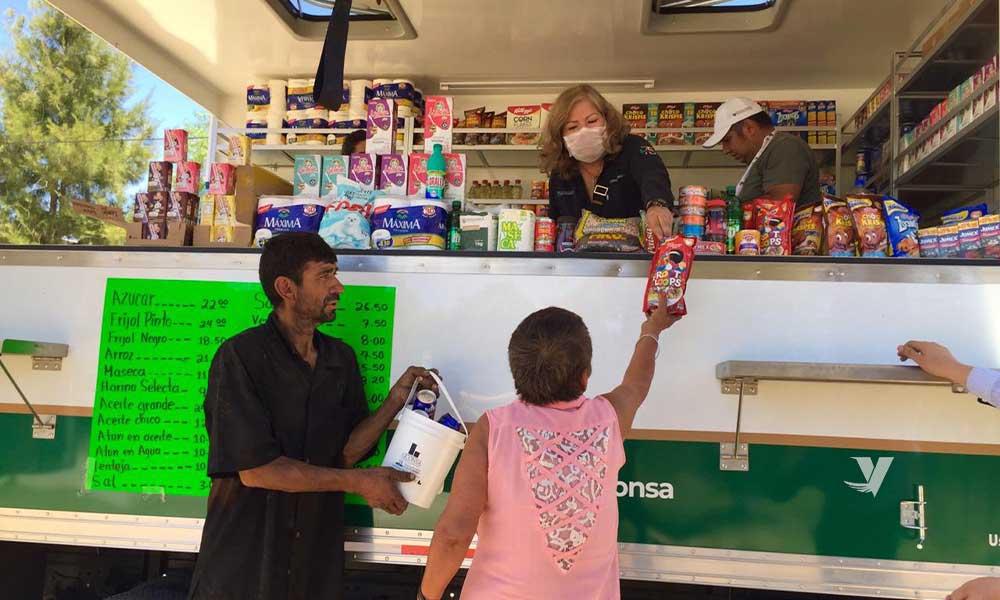 Aumentan más las tiendas Segalmex-Diconsa-Liconsa en beneficio de la comunidad de Baja California