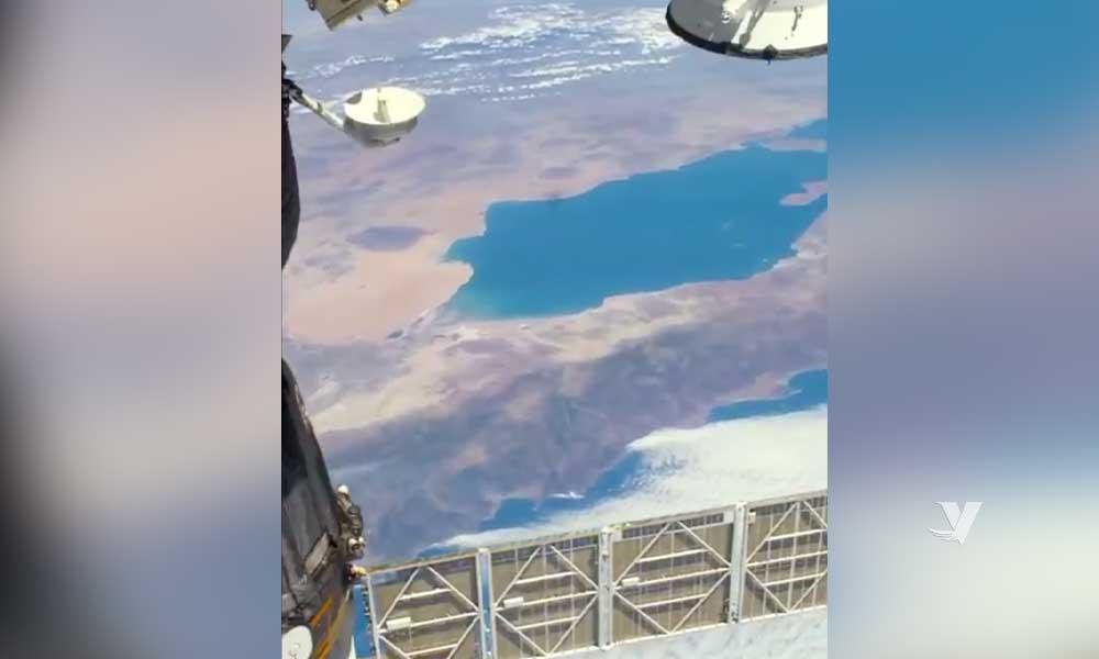 Circula video de Baja California visto desde el espacio