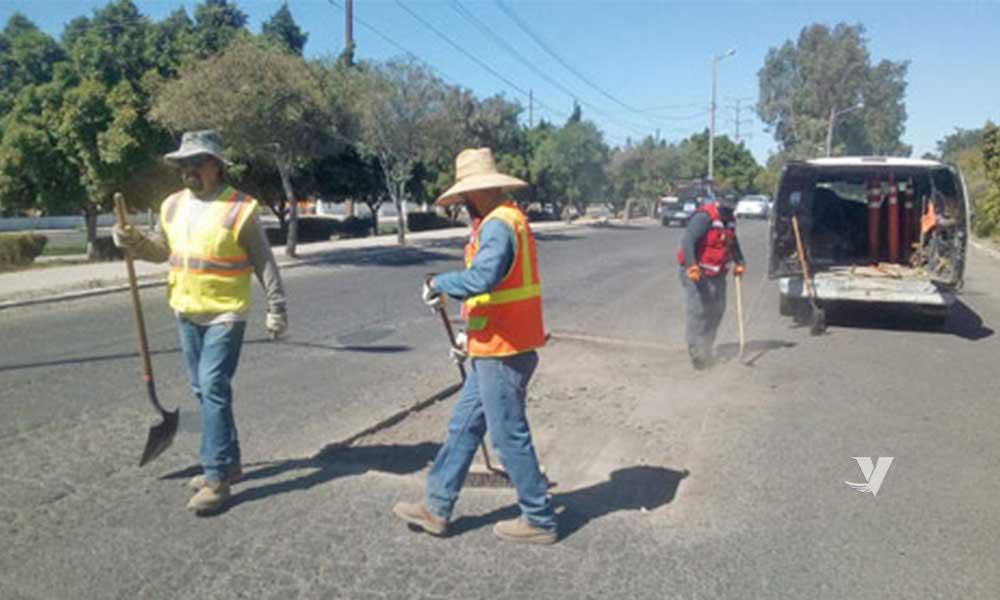 Avanza XXIII Ayuntamiento de Tecate en Programa de Bacheo