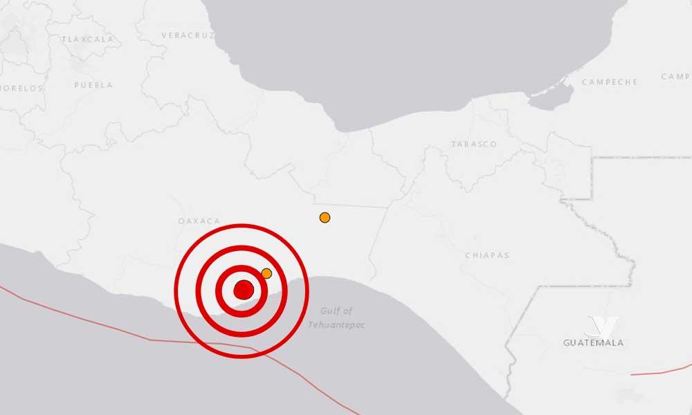 Se registra sismo de 7.7 grados en México