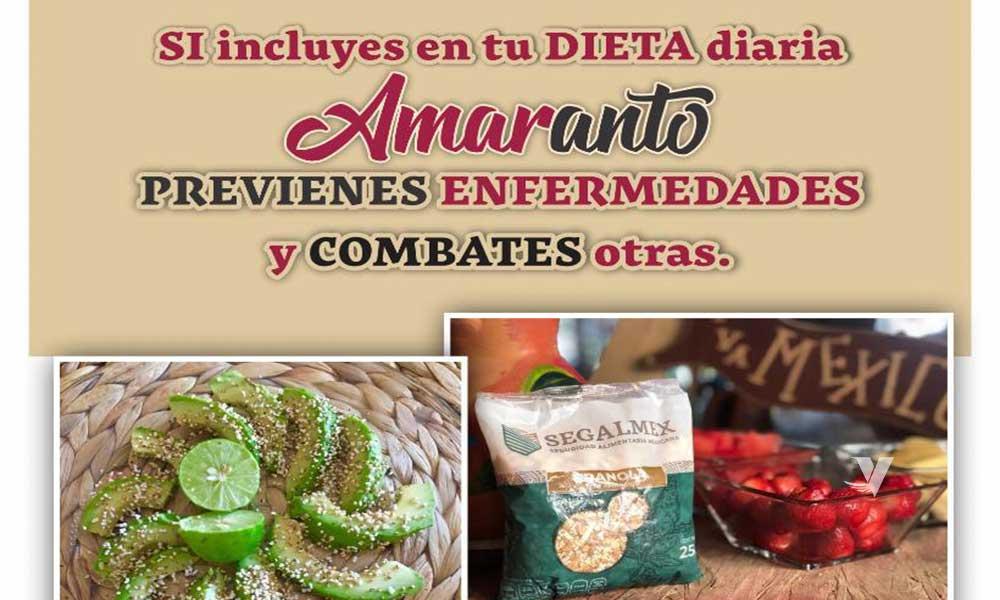 ¡Amaranto, el pequeño gran gigante de la nutrición!; Segalmex-Diconsa-Liconsa