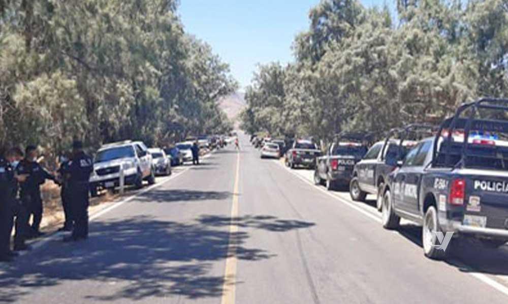 Suspenden evento clandestino de arrancones en Valle de las Palmas