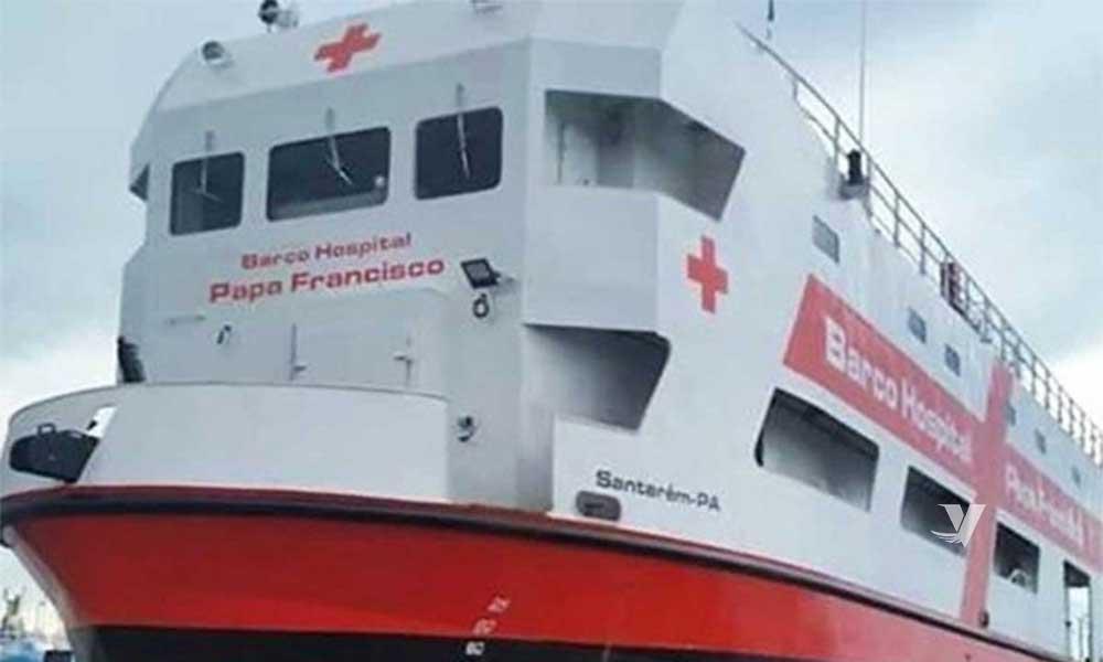 Envía El Vaticano barco de asistencia de COVID-19 al Amazonas
