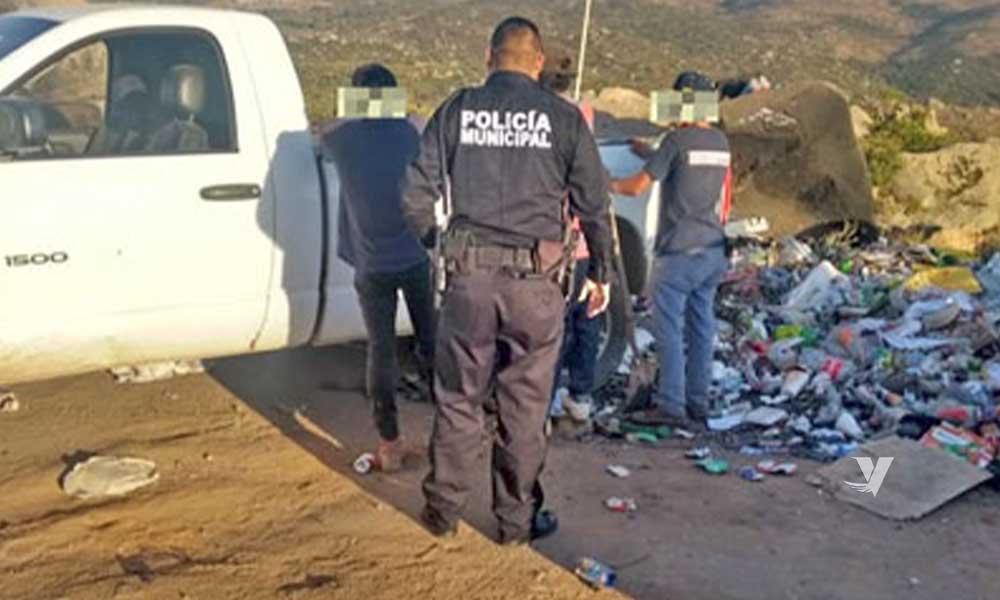 Se aplicarán sanciones a personas que tiren basura en lugares no autorizados