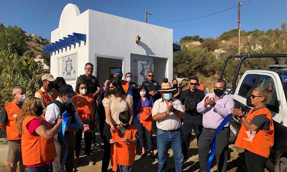 Realizan reapertura de caseta policiaca en Colonia Escudero