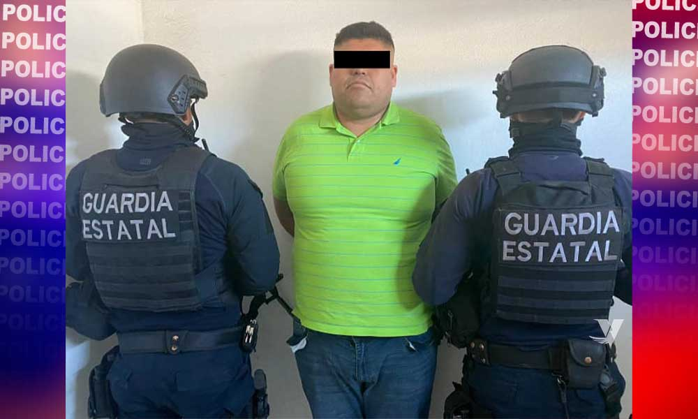 Captura FGE y Secretaría de Marina a líder del CJNG en Tecate