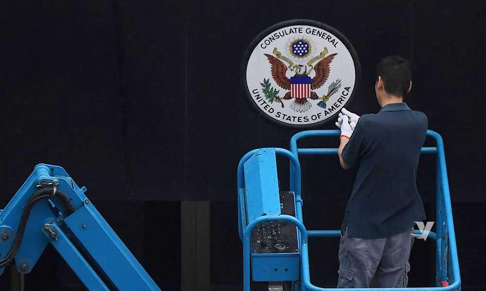 Cierra Estados Unidos su consulado en la ciudad de Chengdu en China