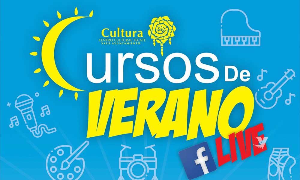 Invita Centro Cultural Tecate a sus cursos de verano por Facebook Live