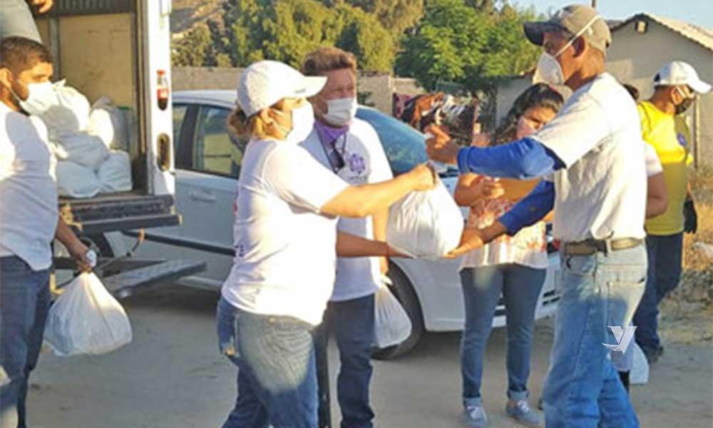 Continúa DIF Municipal con entrega de apoyos alimenticios en Colonia San José
