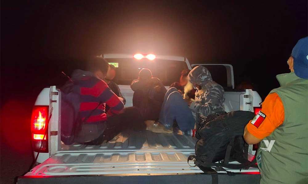 Rescata Grupo BETA a cinco personas migrantes en Cañón del Muerto