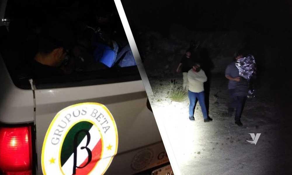 Rescata Grupo BETA a 12 personas migrantes