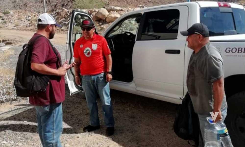 Rescata Grupo BETA a cuatro personas migrantes