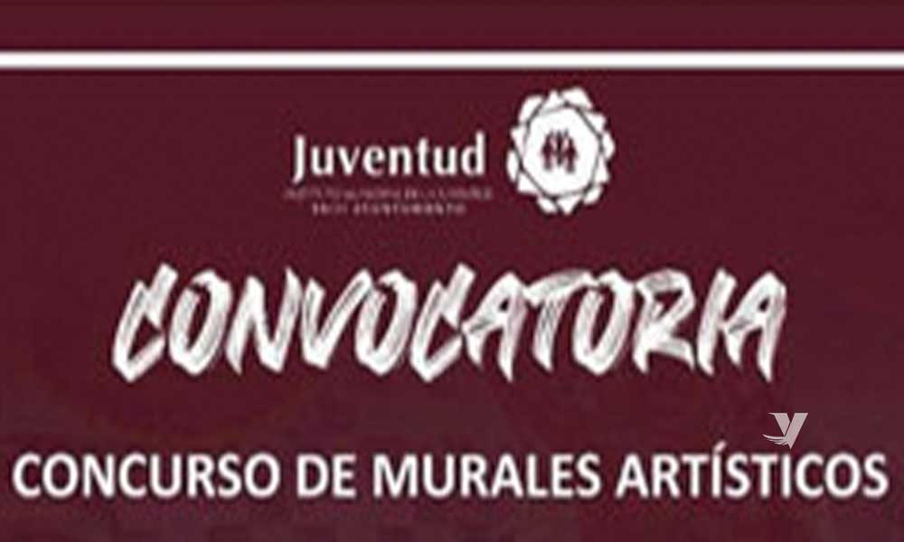 Invita el Instituto Municipal de la Juventud a concurso de murales artísticos
