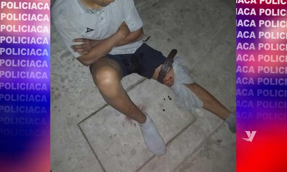 Lesionado con arma de fuego en San Pablo