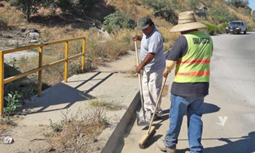Intensifica Obras Públicas Jornadas de Limpieza