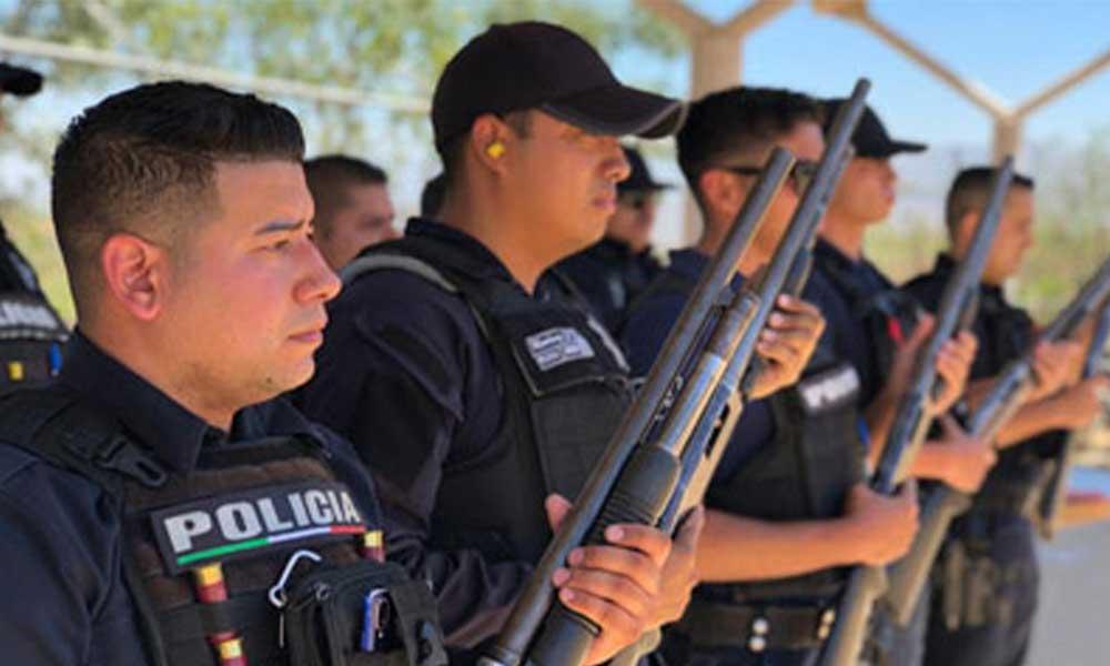 Realizan Elementos de Seguridad Ciudadana y Tránsito Municipal práctica de tiro