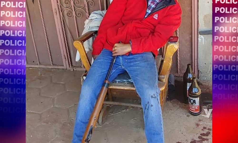 Localizan persona con disparo en la cabeza en Rancho La Paloma