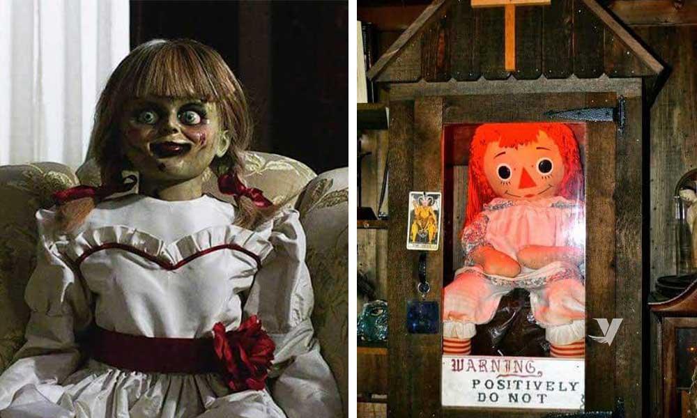 Annabelle la muñeca que inspiró la película desapareció misteriosamente