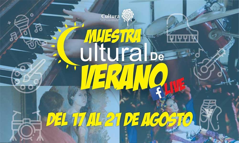 Invita centro cultural tecate a la Muestra Cultural de Verano virtual