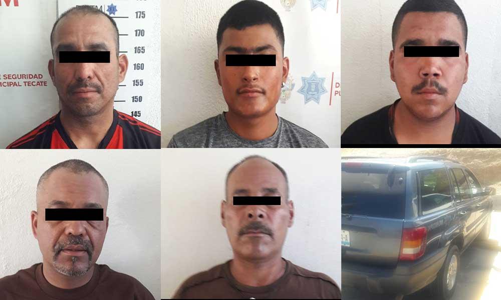 Privación de libertad, persecución y cinco detenidos en La Coyotera