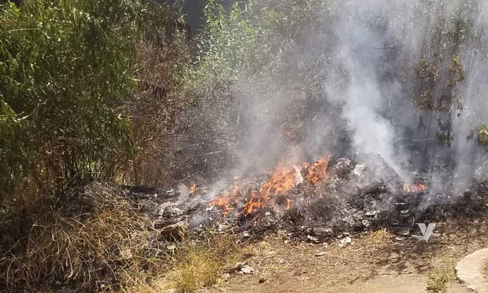 De 30 a 4 mil salarios diarios a quien se sorprenda quemando basura a cielo abierto: DPA