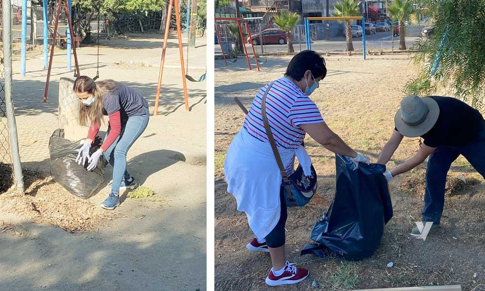 Conservación del parque de la colonia Cuauhtémoc con jornada de limpieza: DPA