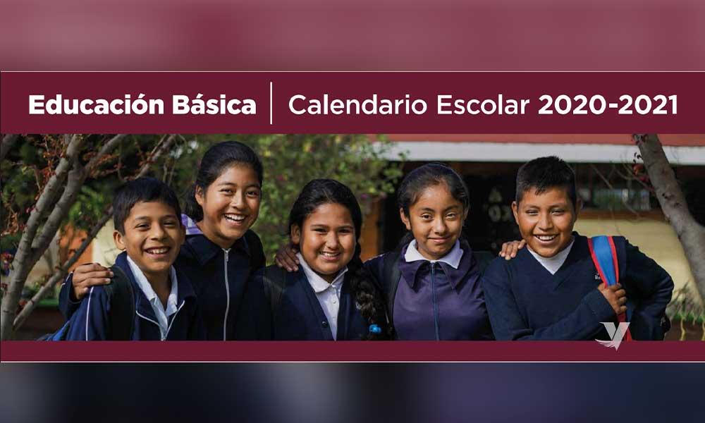 Presentó Secretaría de Educación el Calendario del Ciclo Escolar 2020-2021