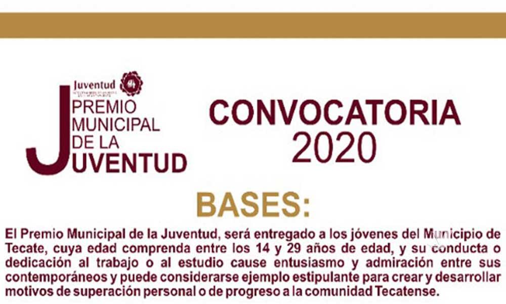 IMJUVET invita a jóvenes tecatenses a inscribirse al Premio Municipal de la Juventud