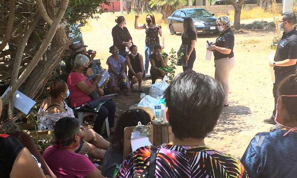 Arranca IMMUJER capacitaciones en colonias del municipio