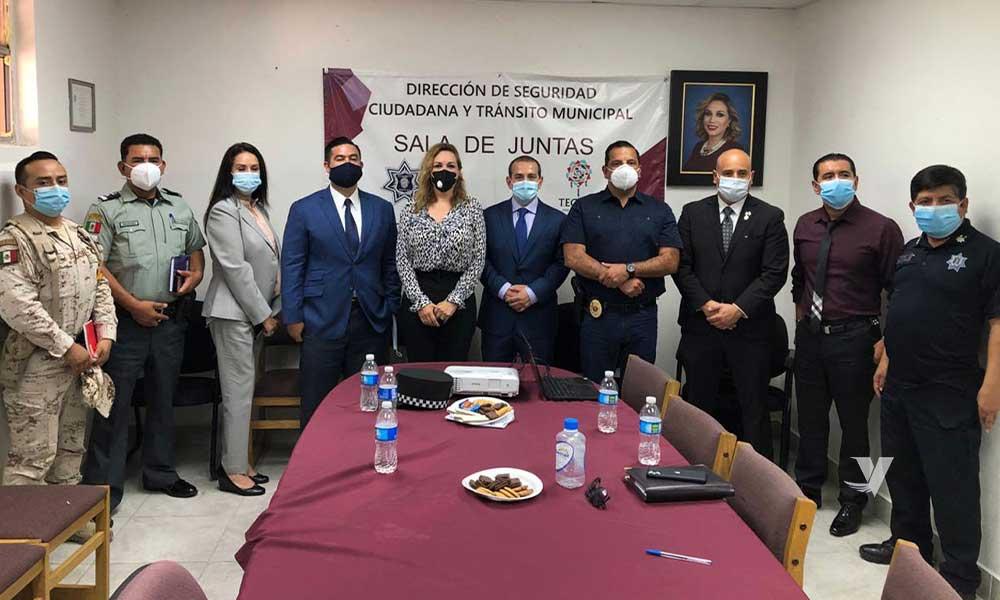 Se reúne Zulema Adams con la mesa de seguridad interinstitucional de los tres niveles de gobierno
