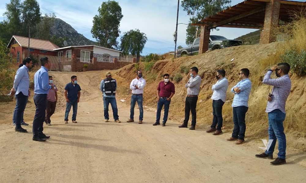 Arrancan juntas para Infraestructura Social en el Municipio de Tecate