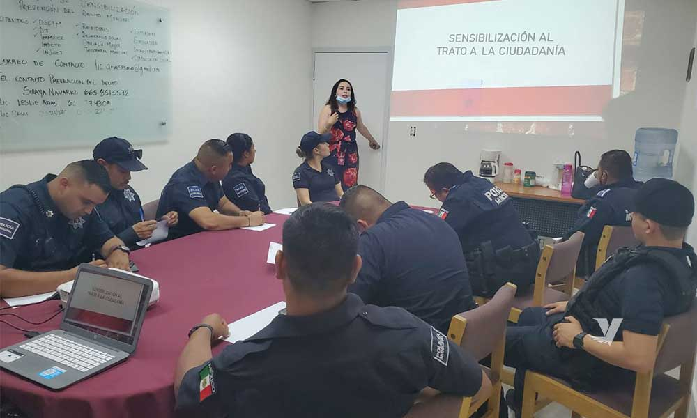 Realiza IMMUJER capacitación a personal de Seguridad Ciudadana y Tránsito Municipal