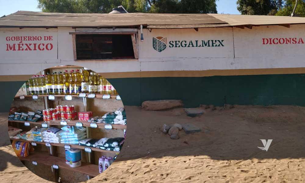 Diconsa inaugura tienda comunitaria en San Quintín
