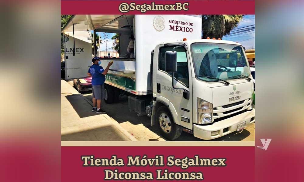 Anuncia Segalmex Baja California el recorrido de la tienda móvil para la semana del 24 al 29 de agosto