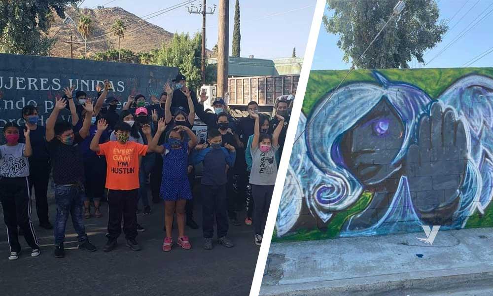 Da inicio programa de antigraffiti en Tecate