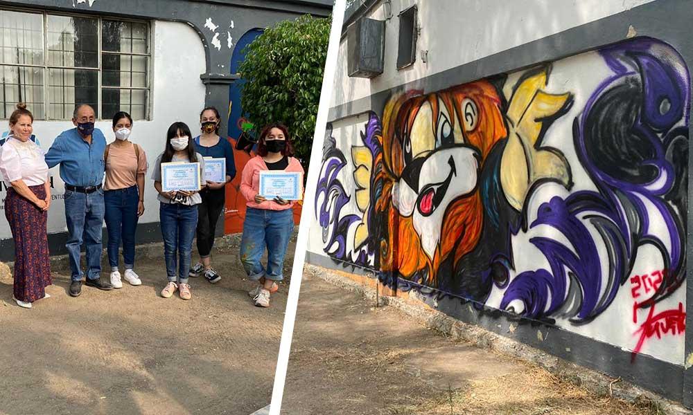 IMJUVET realiza con éxito concurso de murales artísticos