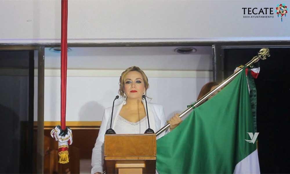 Se conmemoró el 210 Aniversario del Grito de Independencia en Tecate
