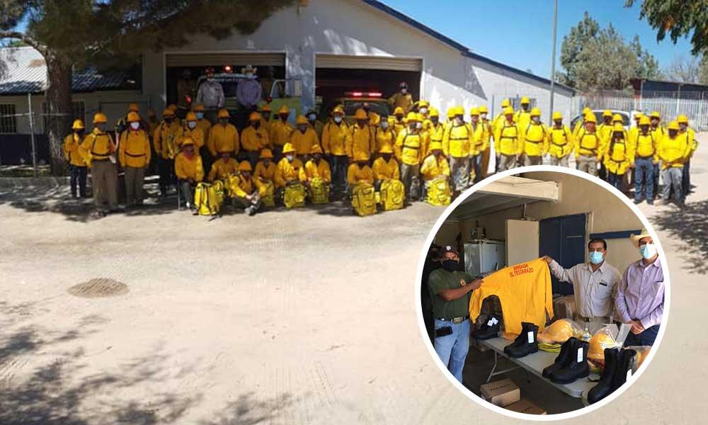 Entrega Secretaría Del Campo De B.C. Equipo De Protección A Brigadistas Forestales En Tecate