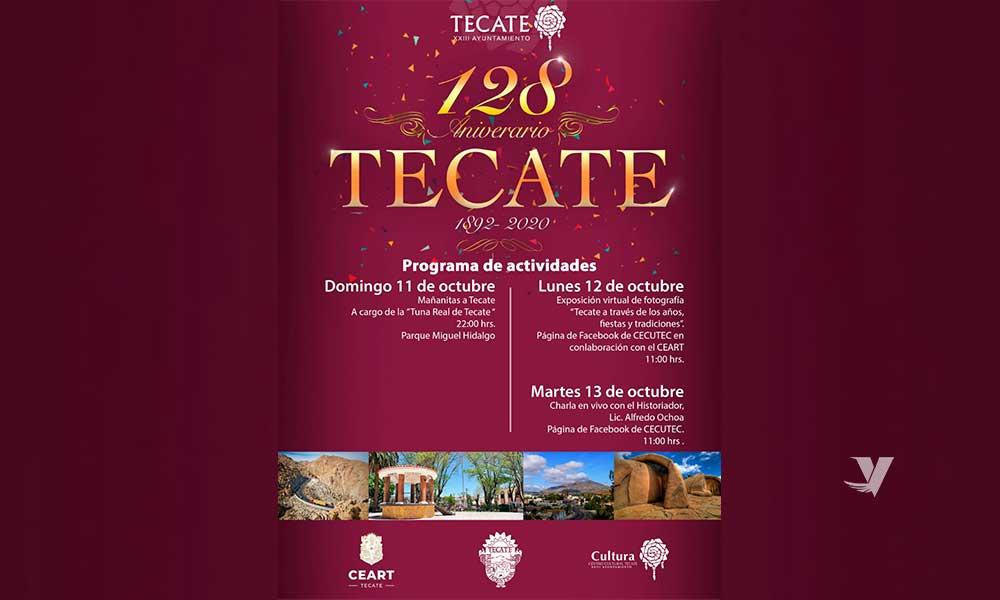 Festejará el XXIII Ayuntamiento el 128 Aniversario de Tecate