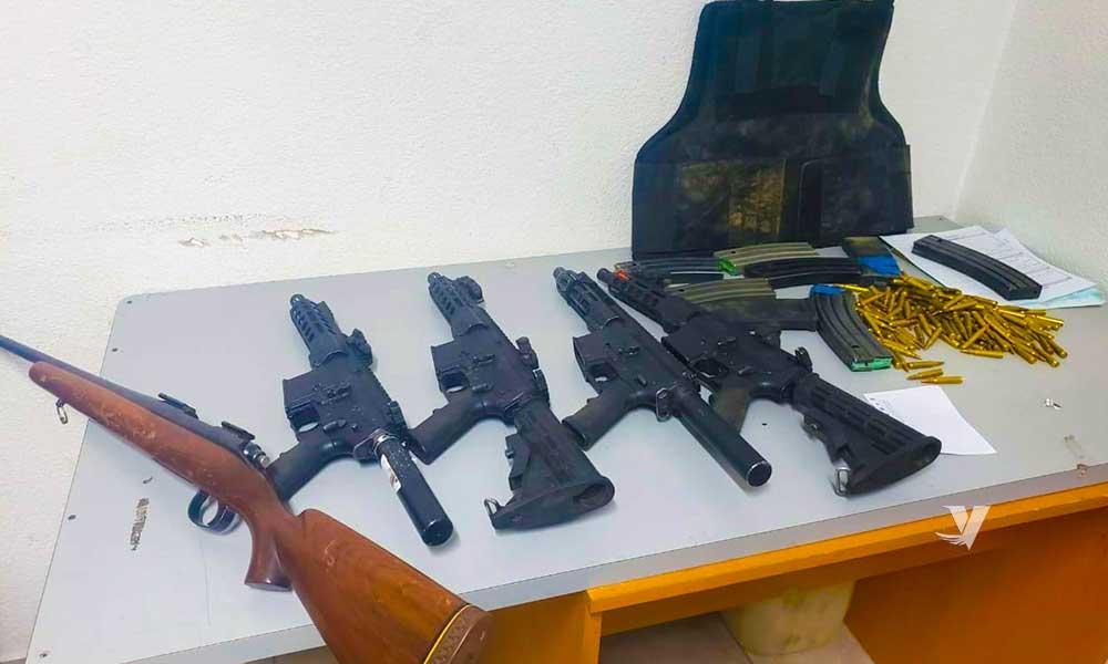 Localizan armas de grueso calibre en Tecate