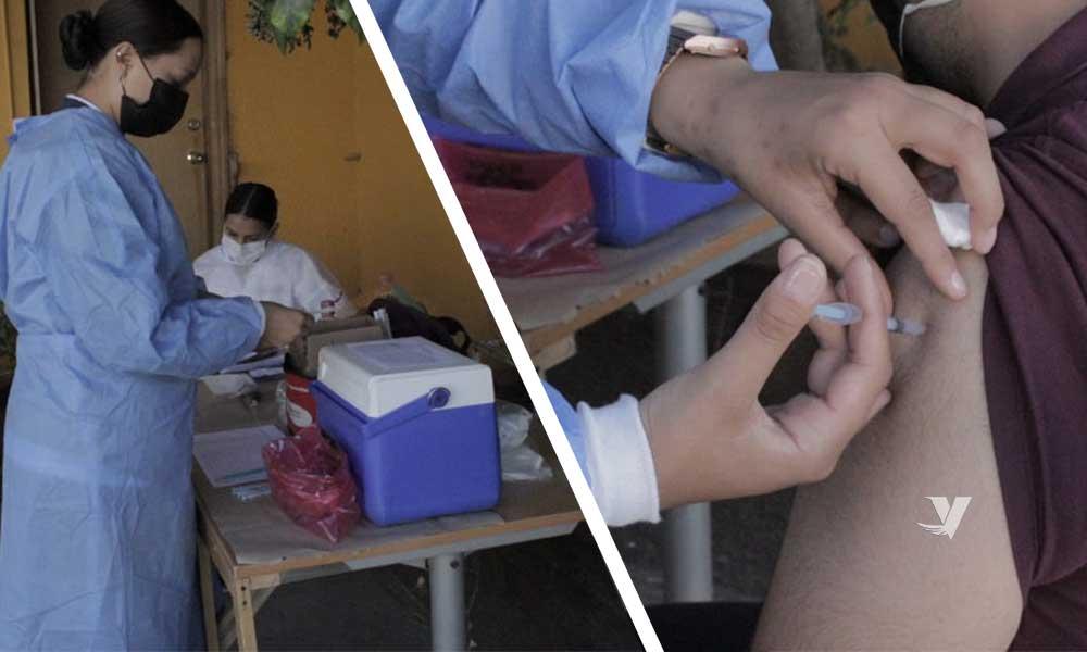 Aplican vacuna contra la influenza estacional al personal del XXIII Ayuntamiento De Tecate
