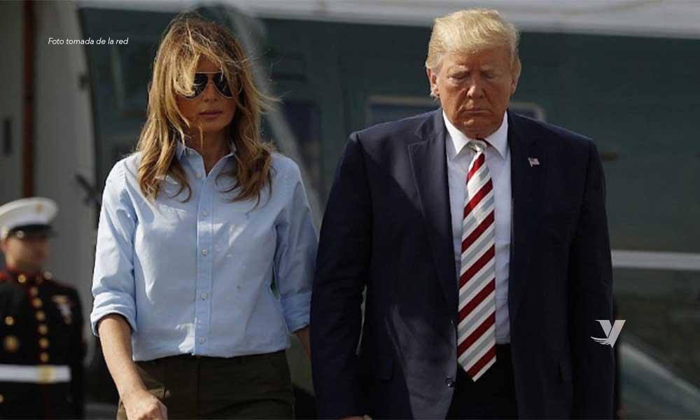 Donald Trump y su esposa dan positivo a COVID-19