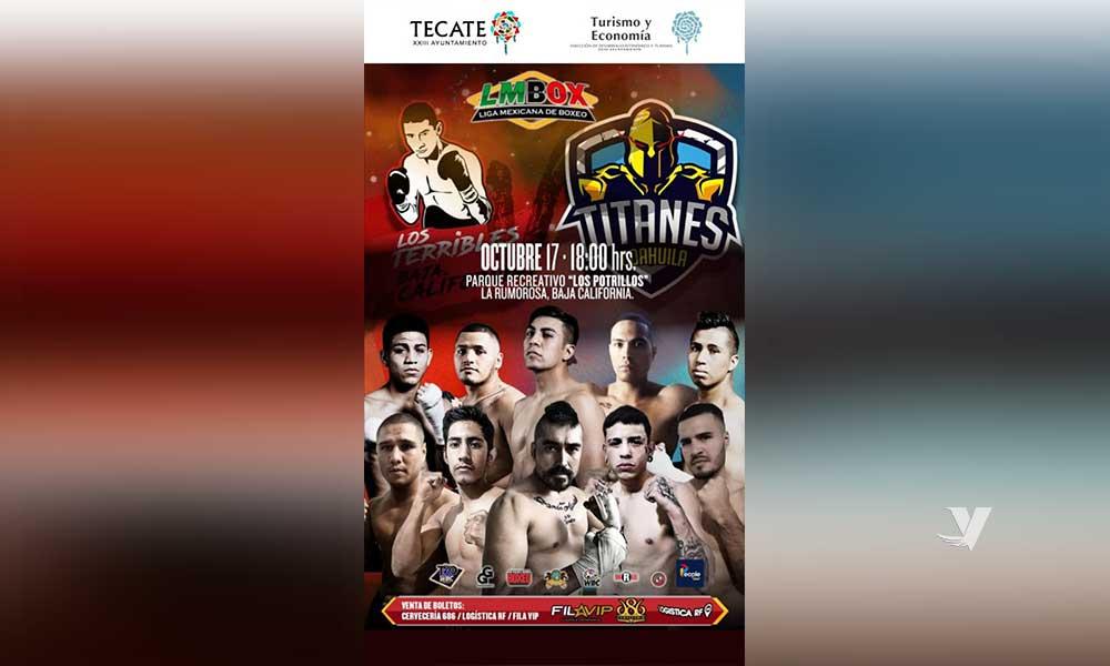 Invita Ayuntamiento de Tecate a pelea de Box en La Rumorosa el Próximo 17 De Octubre
