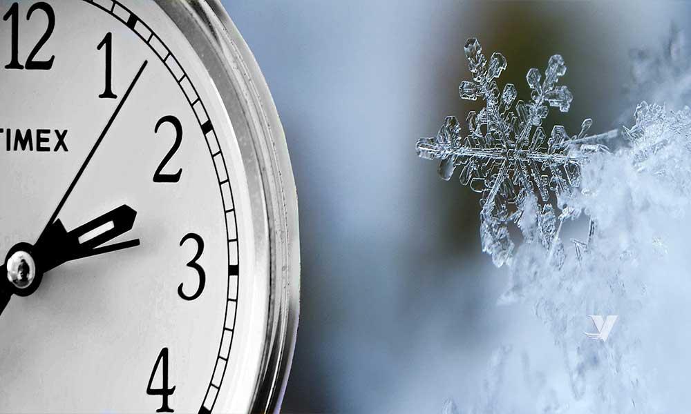 ¡RECUERDA! Domingo 1 de noviembre entra en vigor el horario de invierno en BC
