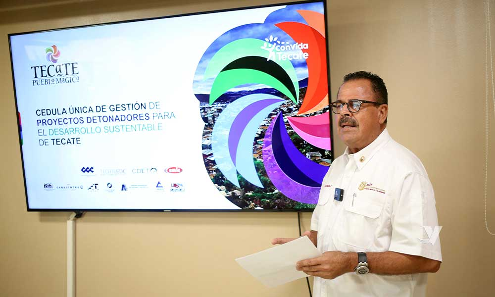 Refleja Tecate crecimiento económico sustentable, industrial, comercial y turístico, reconoce el Gobierno del Estado