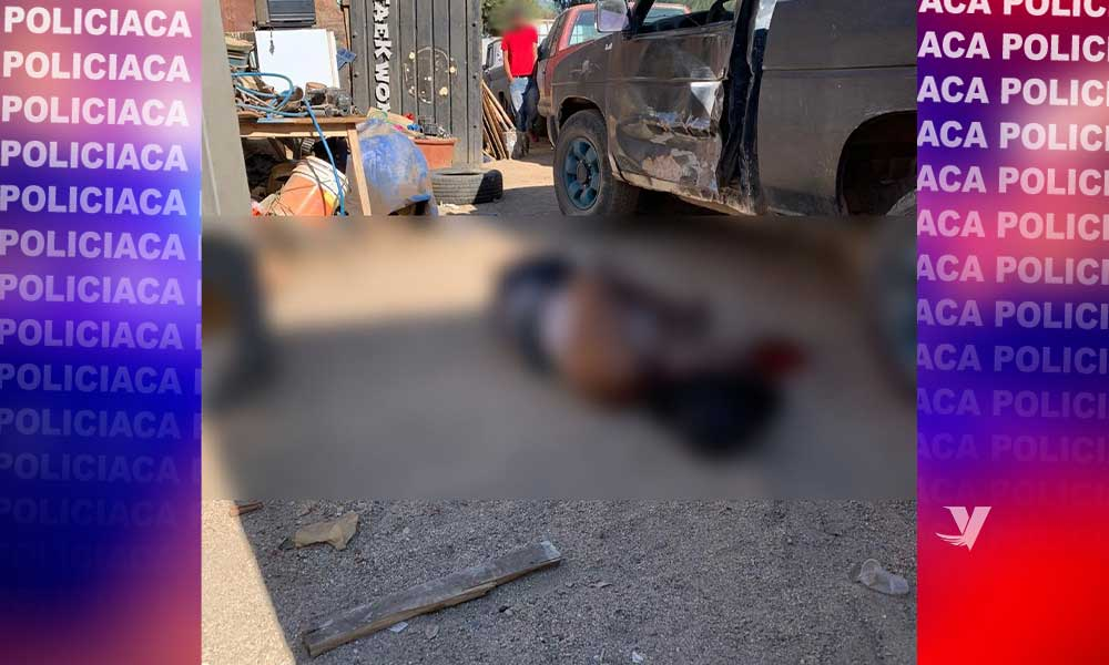 Se registra homicidio en Nueva Colonia Hindú