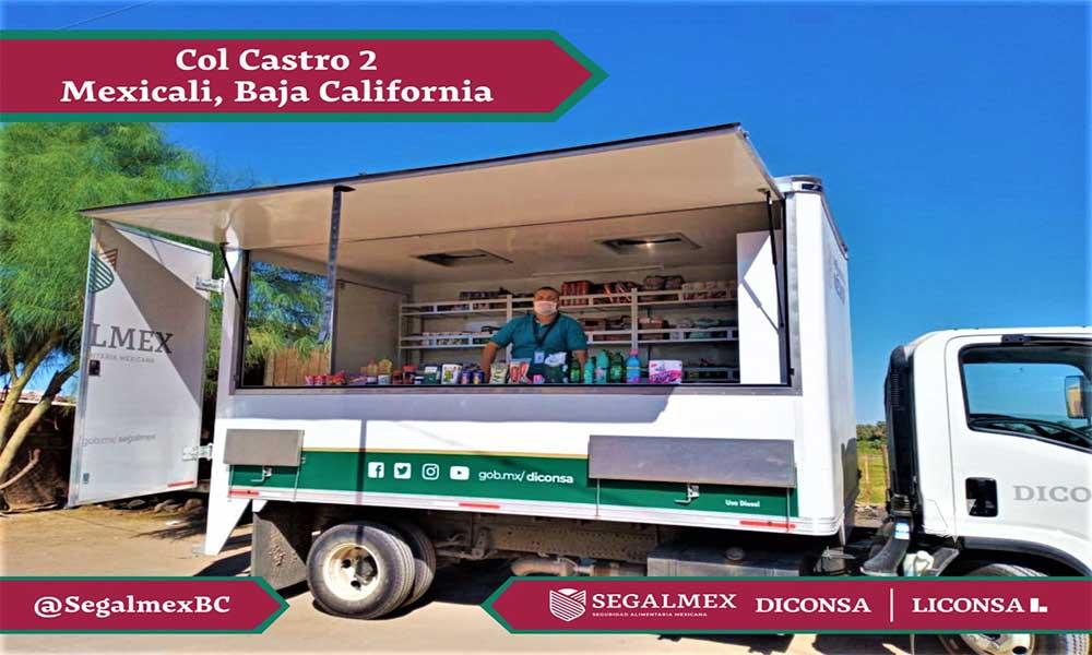 Tienda Móvil Diconsa-Liconsa Sigue Sus Recorridos Por Baja California